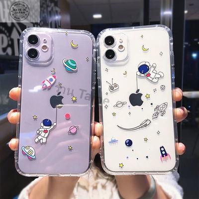 เคสไอโฟน 12 case iphone12 case iPhone 12 Pro /case iPhone 12 Pro Maxการ์ตูนสร้างสรรค์นักบินอวกาศ 12promax Apple 11 เคสโท