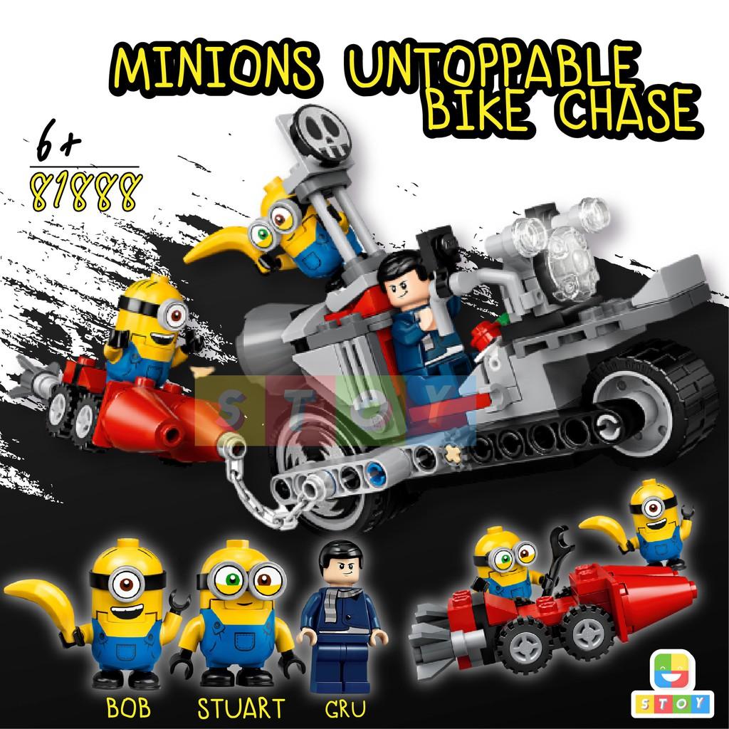 ตัวต่อเลโก้มินเนี่ยนกับGru 81888 มินเนียน Despicable Me Minion