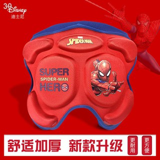 ☸₪♦Disney Children s diaper pad butt skateboarding skating roller protective equipment anti-fall plus thick knee pads