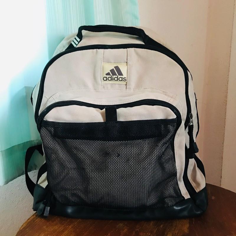 กระเป๋าเป้ADIDASมือสอง Adidasแท้ กระเป๋าเป้ผู้ชาย กระเป๋าผ้าสะพายหลัง กระเป๋าเดินทางผู้ชายมือสอง