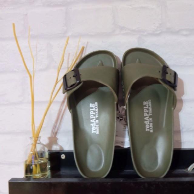 รองเท้าแตะ ♥[Ready to ship] รองเท้าแตะผู้หญิงสายเดี่ยวสุดชิค ทรงbikenstock