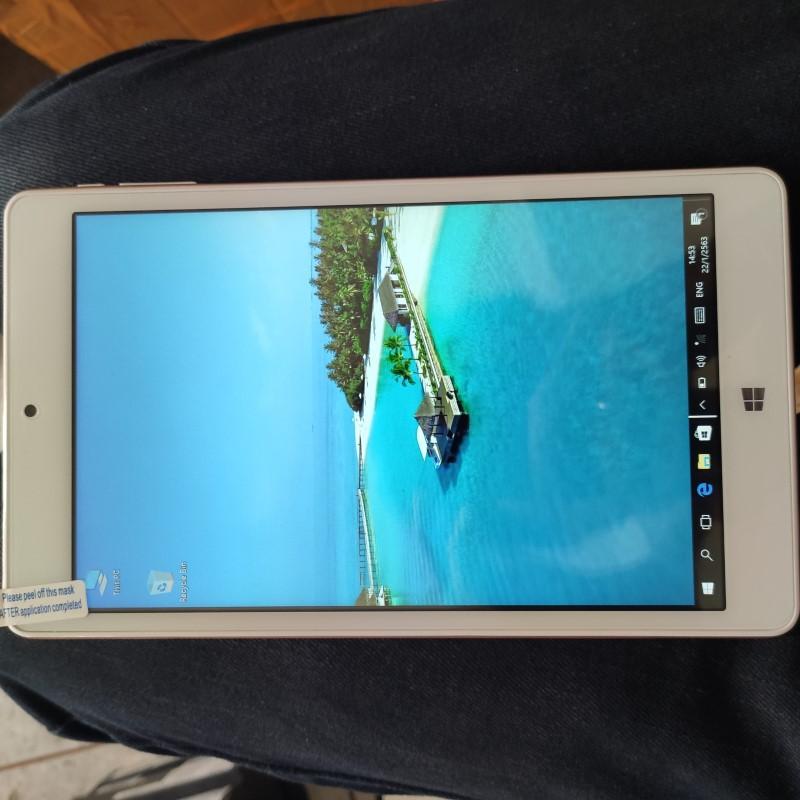 แท็บเล็ต Tablet Teclast X80 Power แท็บเล็ตมือสอง แท็บเล็ต 2 ระบบ ราคาถูก แท็บเล็ตสภาพพดี 2OS สีทอง ราคาประหยัด 11