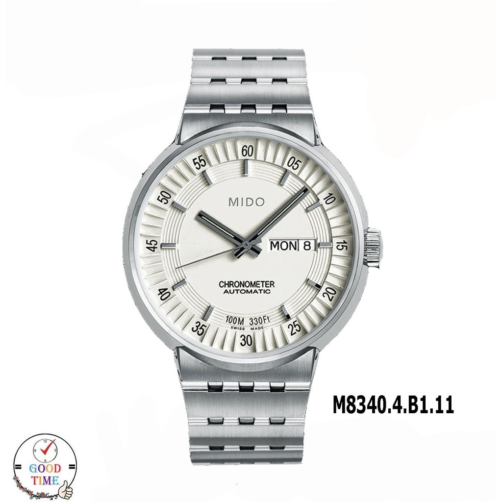 Mido Chronometer Automatic นาฬิกาข้อมือชาย รุ่น M8340.4.B1.11
