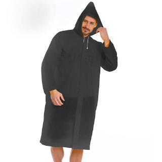 US NEW Men Women Waterproof Jacket PE Hooded Raincoat Rain Coat Poncho Rainwear
