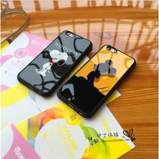 iPhone 5/5s/SE Cartoon Casing iPhone 6 6s 7 8 plus Soft Cover iPhoneX Back เคส