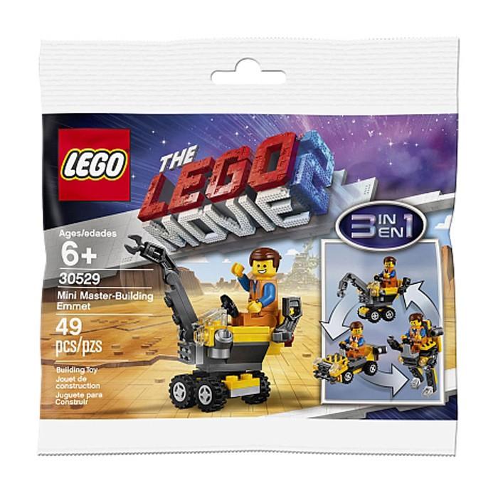 The Lego Movie 2 Lego Construction Building Toys Lego 30529 Mini Master Building Emmet 3 In 1 New Polybag Lego Complete Sets Packs Lego Construction Building Toys Lego Toys