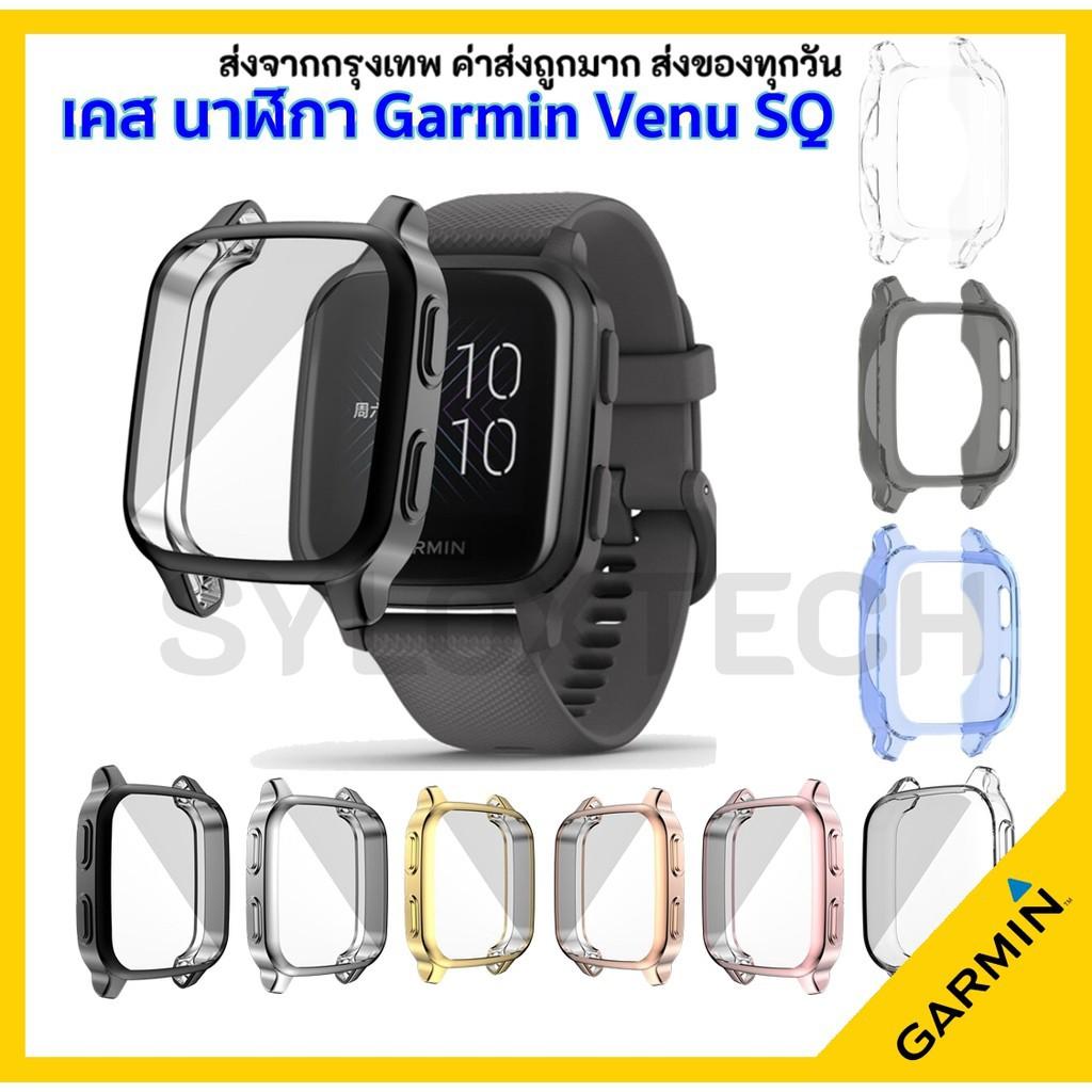 สาย applewatch สาย applewatch แท้ เคสกันรอย Garmin Venu SQ Protector Smart Watch Case Cover เคสกันรอย เคสนาฬิกา