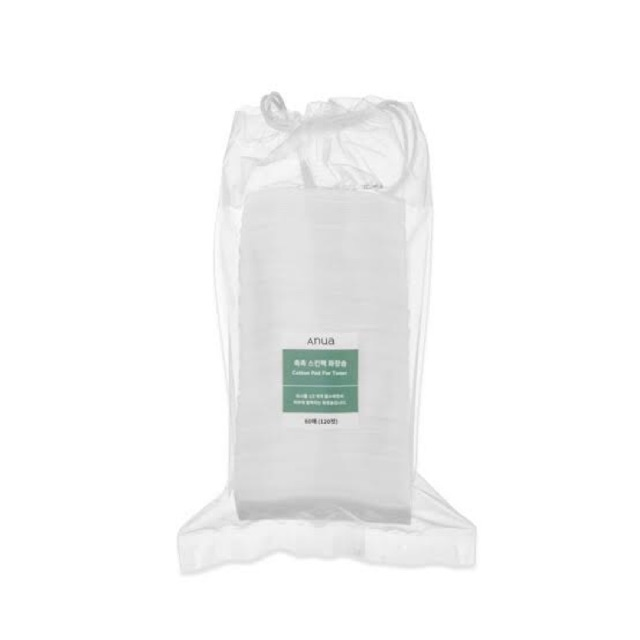(ปิดรับชั่วคราว)Anua cotton pad for toner สั่งจองไว้ก่อนได้ค่ะ ของมาค่อยจ่าย❗️