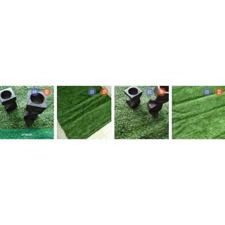 หญ้าเทียมแบ่งขาย50x50cmสำหรับวางโมเดลของตบแต่ง
