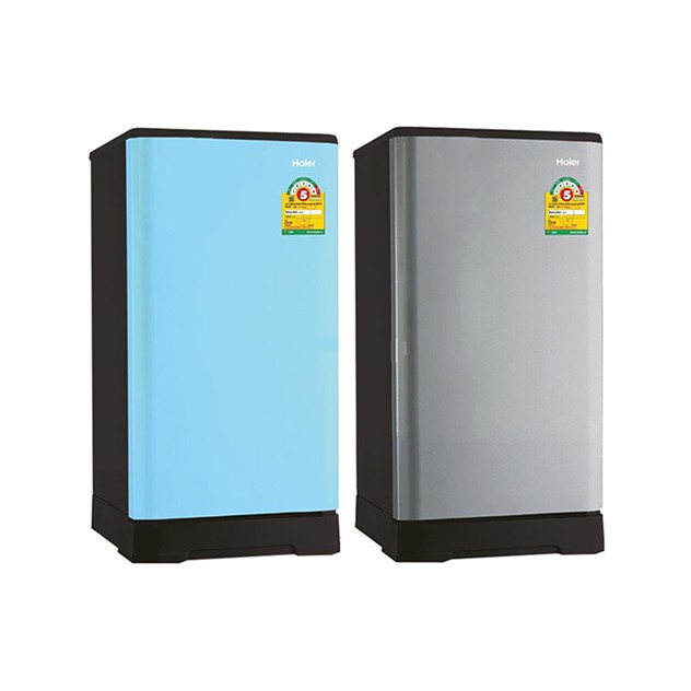 ตู้เย็น 1 ประตู ขนาด 5.2 คิว รุ่น HR-ADQ15 HAIERโดดเด่นสวยงามด้วยสีสันพาสเทล