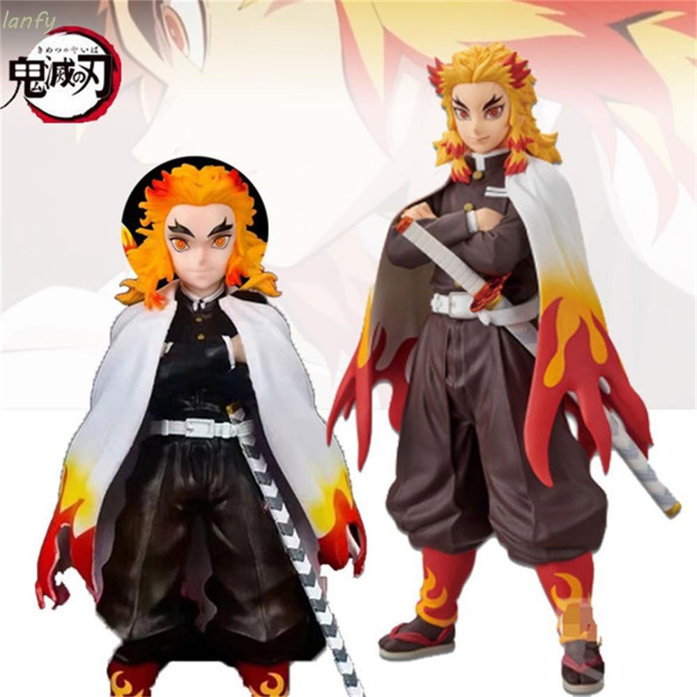 ღღLANFY Japan Anime Demon Slayer Action Figure Anime Model Anime Characters Anime Demon Slayer Collectible Toy Collectib