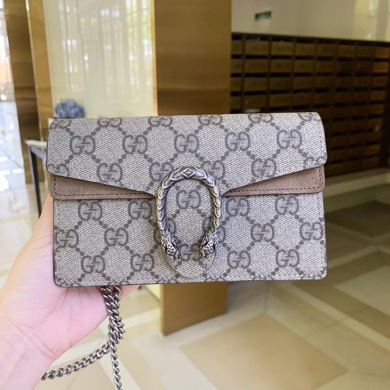Used like very new! Gucci dionysus supermini ปีกเบจ ปี2020