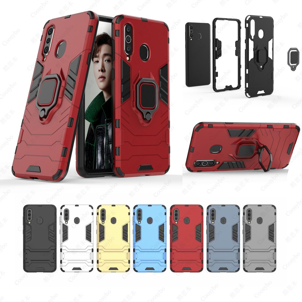 เคสโทรศัพท์มือถือ Tpu + ฟิล์มกันรอยหน้าจอสําหรับ Galaxy A8s Case 6 . 4 นิ้ว 2018-2019 Samsung ( A9 Pro 2019 )
