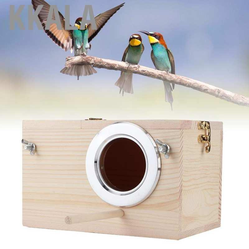 Kkala กล่องเพาะพันธุ์นกขนาด 12x12 X 19 . 5 ซม