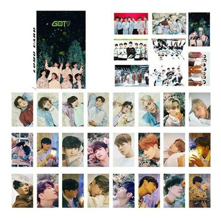 Review Pujings New 32pcs set Kpop GOT7 Mark Personal PhotoCard Picture Poster  Lomo Cards