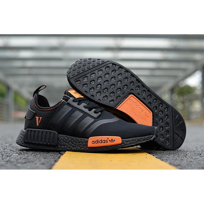 Shoes Adidas Nmd Sports R1 Black Couple Running Stock Sao Paulo Ready 8NvPy0wOmn