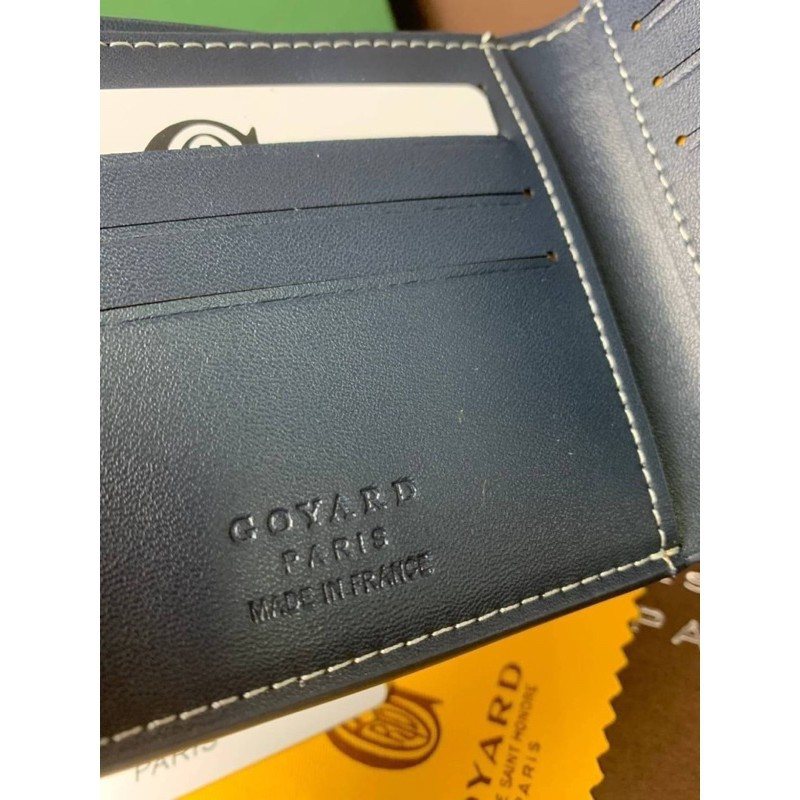 👌Goyard wallet top ออริ 📌size 11 cm. หนังแท้