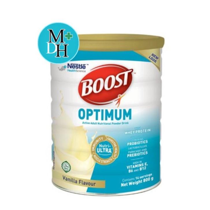 Nestle Nutren Boost Optimum อาหารเสริม นิวเทรน ออปติมัม 400 / 800 กรัม otKX