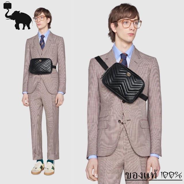 ใหม่ล่าสุดGucci marmont belt bag พร้อมส่ง ของแท้100%ของแท้ 100%