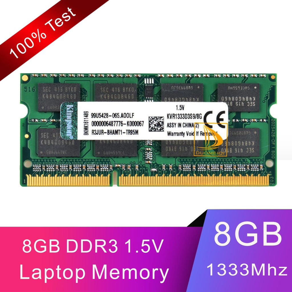 Samsung 8GB PC3L 12800U 2RX8 DDR3 1600MHz 1.35 Memory RAM DIMM Low Density Intel