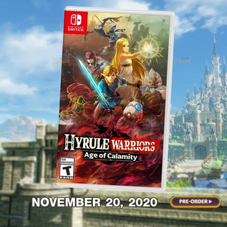 [PRE ORDER]  Nintendo Switch™ Hyrule Warriors: Age of Calamity Zone US/Asia  : English จัดส่ง 20 พ.ย. 63