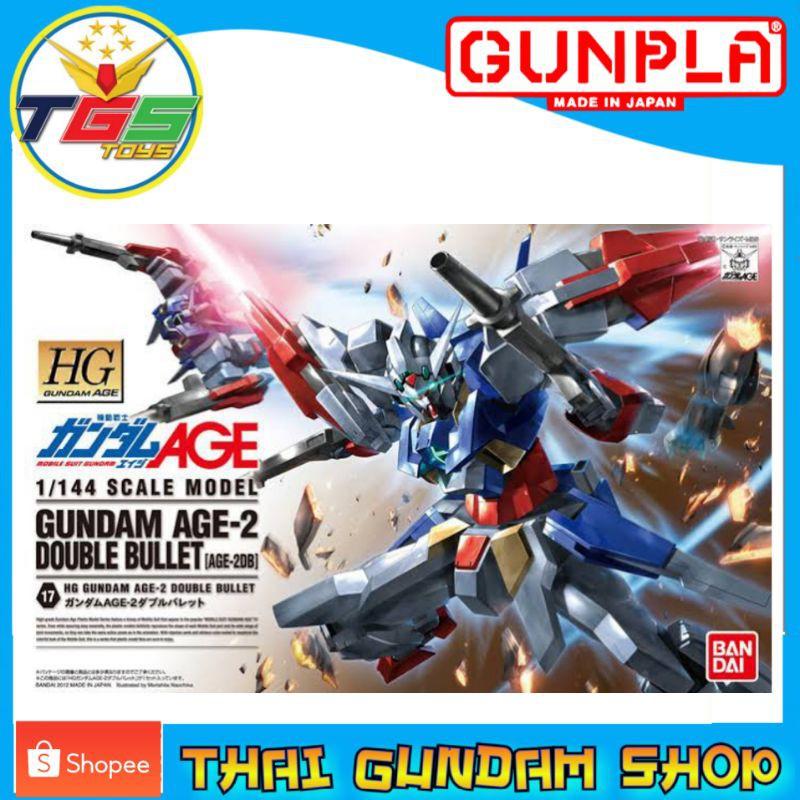 ⭐TGS⭐HG Gundam AGE-2 Double Bullet (AGE) (Gundam Model Kits)