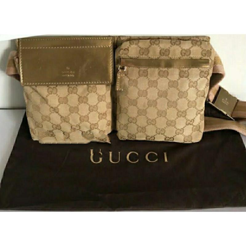 gucci belt bag rose gold
