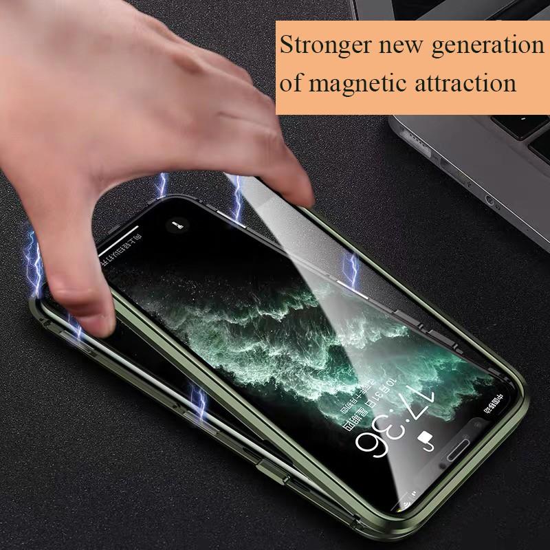 🔴✨เคสโทรศัพท์มือถือแบบสองด้านสําหรับ Iphone 12 Pro Max Mini X Xs Max 11 Pro Max🔴🔥
