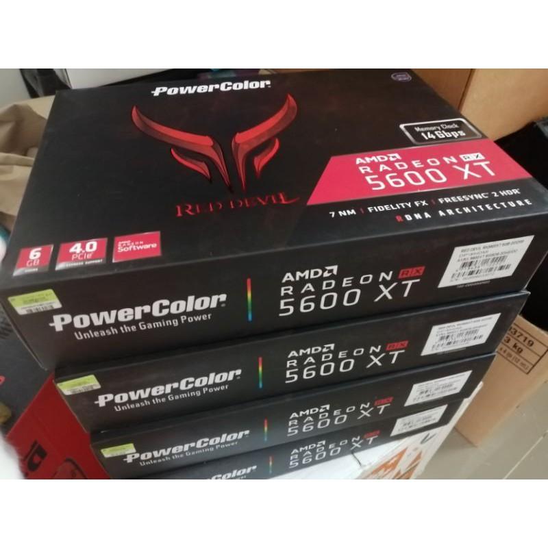 RX5600XT Power color Red Devil 6GB