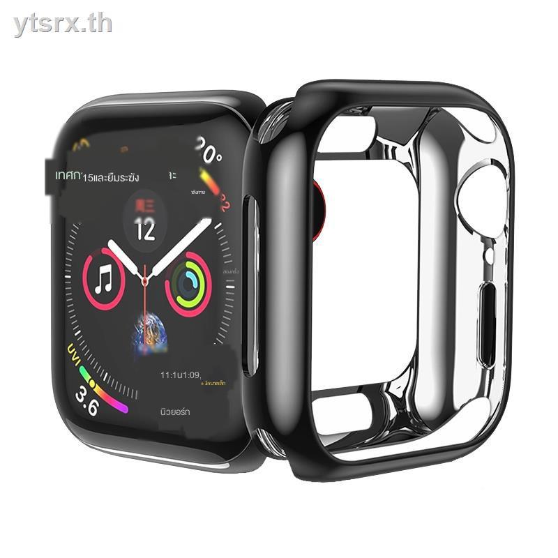 เคสซิลิโคนอ่อนนุ่มสำหรับAirpods caseเคส for Apple AirPods Ayanozaki applewatch protective case Apple watch iwatch 4th generation 5/3/2/1 soft silicone cover half pack serie4 44/42/40/38mm frame electroplating