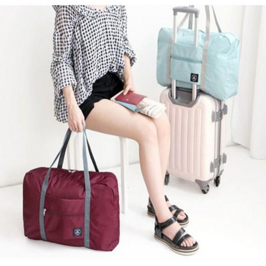 กระเป๋าเสริมเดินทาง กระเป๋าเดินทาง (พับเก็บเป็นใบเล็กได้)