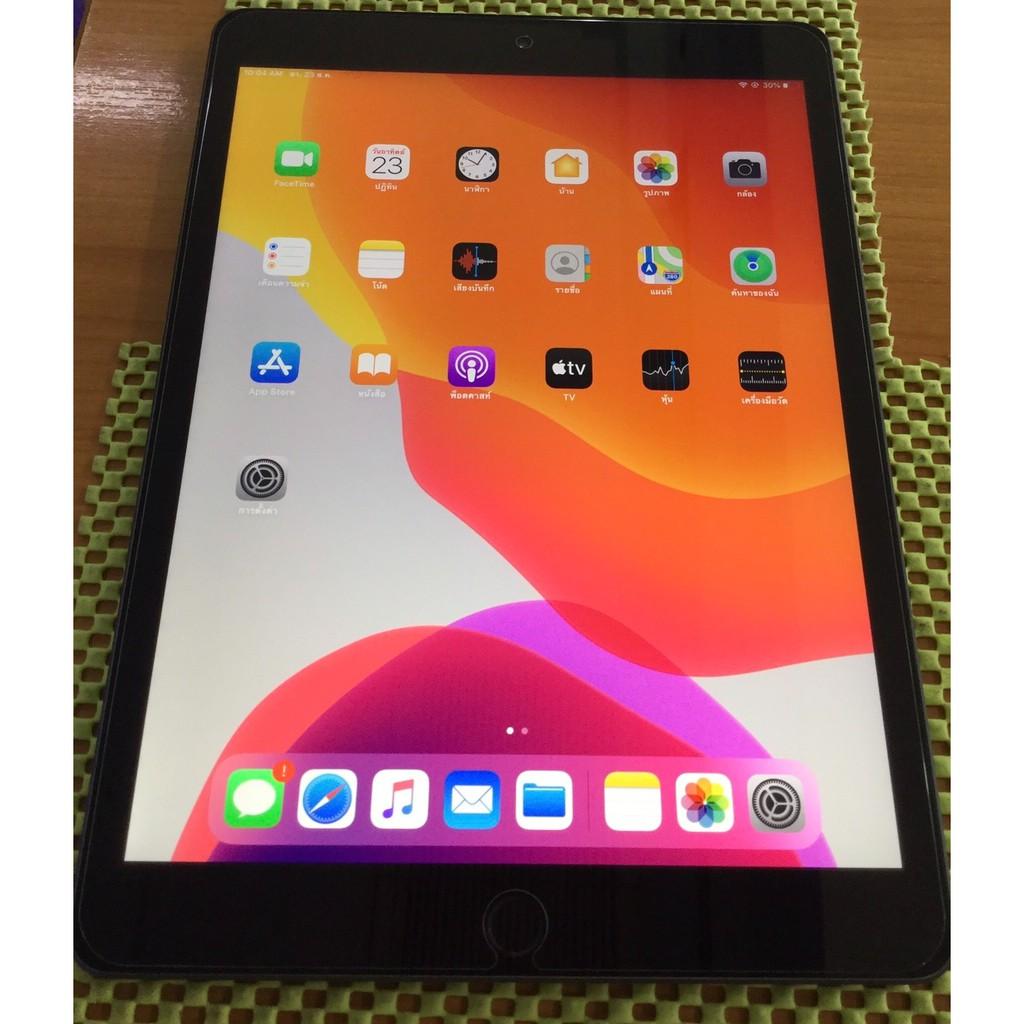 iPad 10.2-inch Apple Wi-Fi + Cellular 32GB Space Gray(Gen7 th) สภาพ สวย มาก ประกัน ศูนย์ถึงวันที 20/12/63