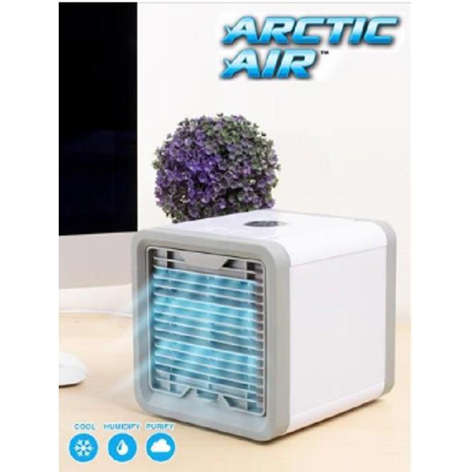 ARCTIC AIR พัดลมไอน้ำตั้งโต๊ะ ขนาด : 16.8 x 18 x 16.8 ซม