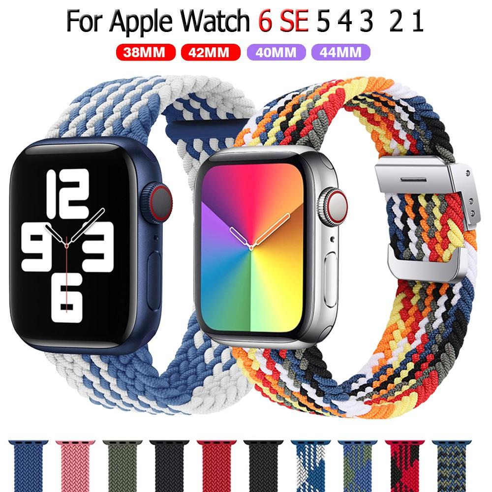 สายนาฬิกาข้อมือ Apple Watch 42 มม 40มม 38 มม 44 มม iwatch series 6 se 5 4 3 2 1 สาย applewatch El3R