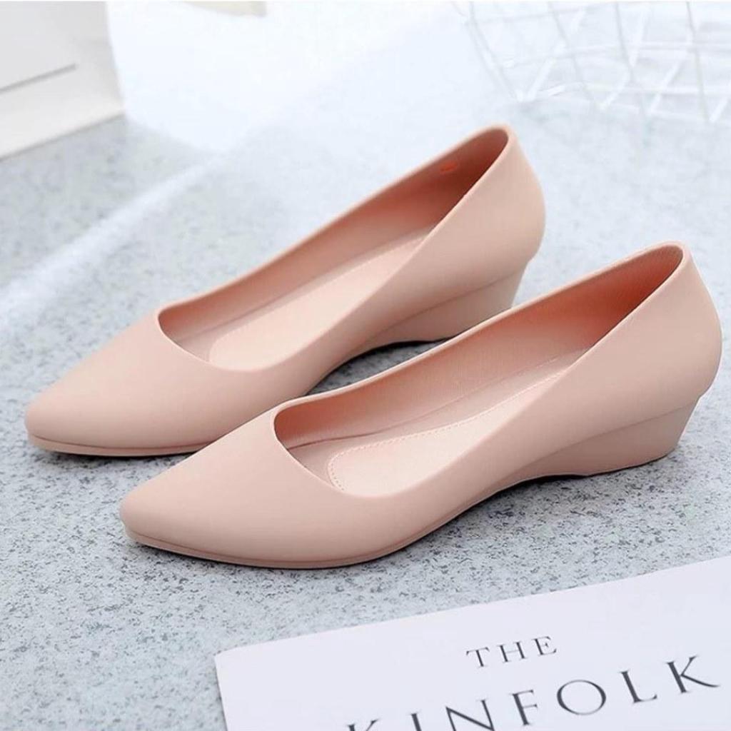 [ มี 2 สี ] Banzai - รองเท้า คัชชูเจลลี่  รองเท้าผู้หญิง สวย นุ่มสบายเท้า รุ่น  HYS-459 คุณภาพดี