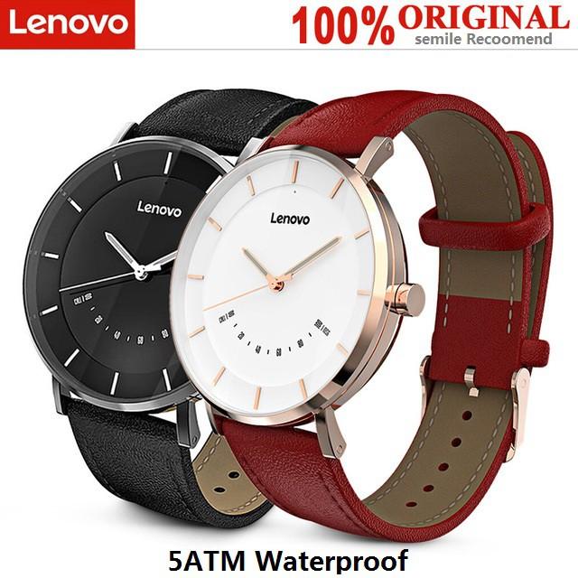 100% Original Lenovo Watch S Smartwatch 5ATM Waterproof Rate Sports Modes  Sleep Monitoring