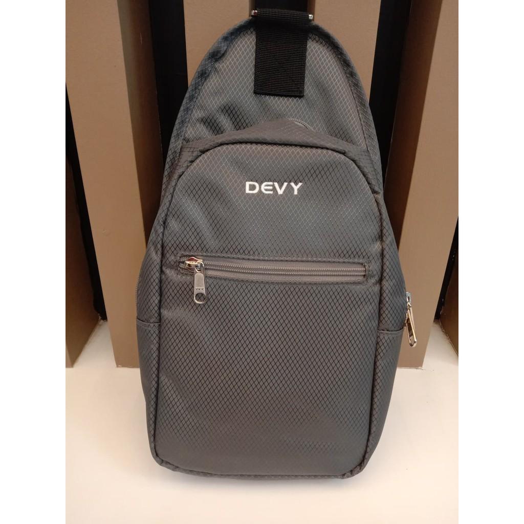 กระเป๋าสะพายข้าง DEVY สีเทา