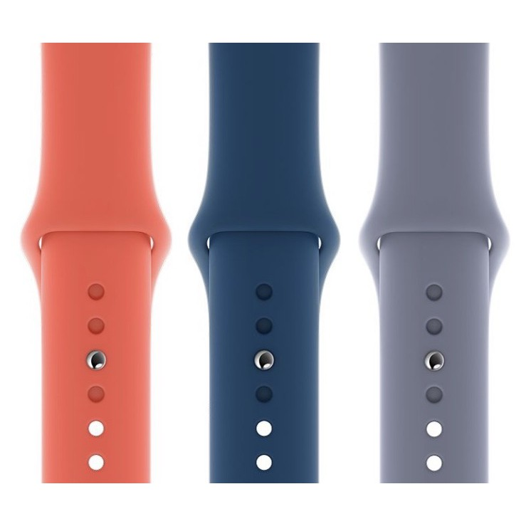 2018Apple Watch Soft Silicone Band - Series 1 / 2 / 3 / 4 / 5 / 6 / SE2021