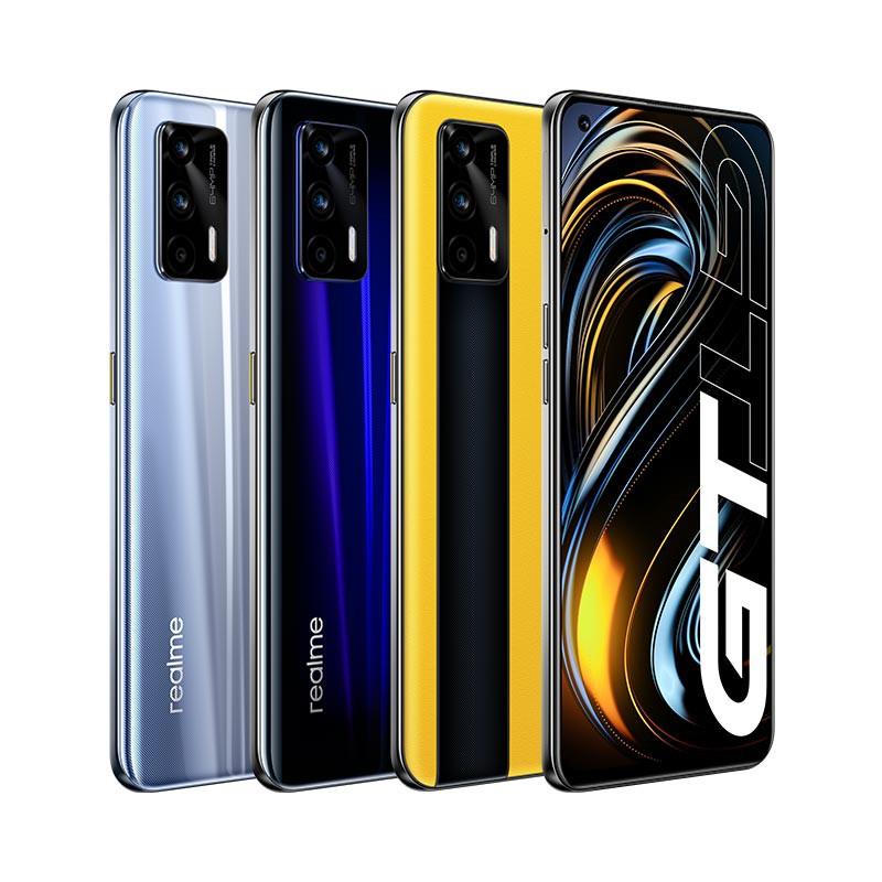 "∏❂﹍World Premiere realme GT 5G สมาร์ทโฟน Global Version Snapdragon 888 65W Super Dart Charge 120Hz 6.43"" AMOLED 12GB 256"