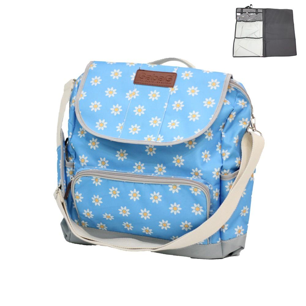 Gabag กระเป๋าเป้สะพายหลัง Series Blue Blossom
