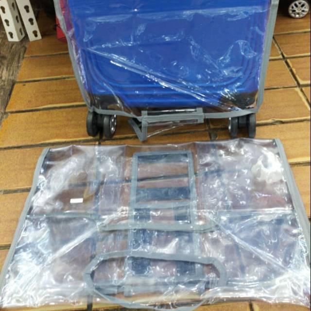กระเป๋าเดินทางพลาสติกขนาด 24 นิ้ว