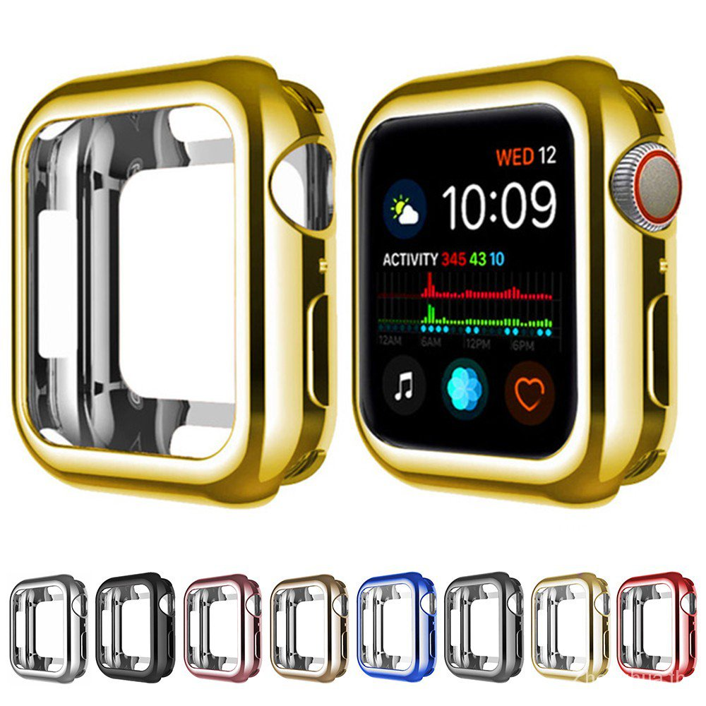 【24H SHIPS】360 Slim Watch Cover for Apple Watch Case series 6 5 4 3 2 1 42MM 38MM Soft Clear TPU Screen Protector 44MM 40MM Accessories