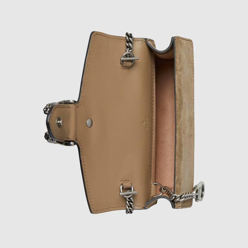 ✨✨[FJ]ซื้อ GUCCI Dionysus Supreme canvas GG mini bag ของแท้จากยุโรป