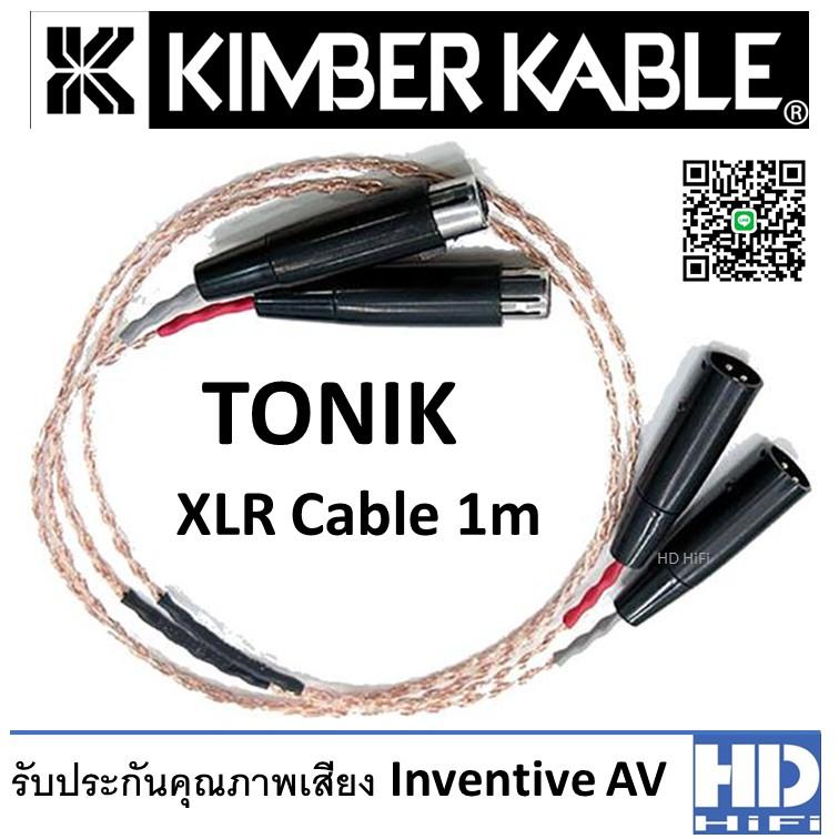 Kimber Kable TONIK XLR Cable 1m
