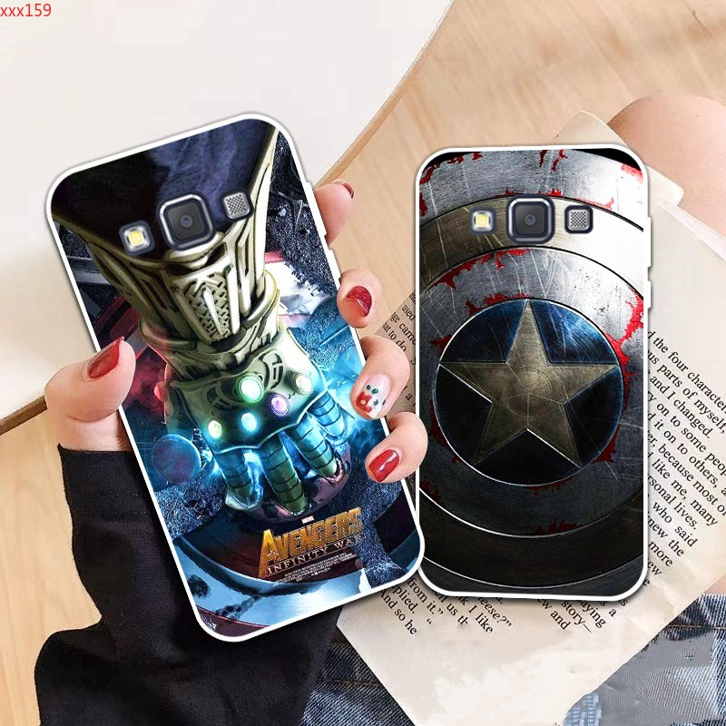 Samsung A3 A5 A6 A7 A8 A9 Star Pro Plus E5 E7 2016 2017 2018 Spiderman pattern-6 Soft Silicon Case Cover