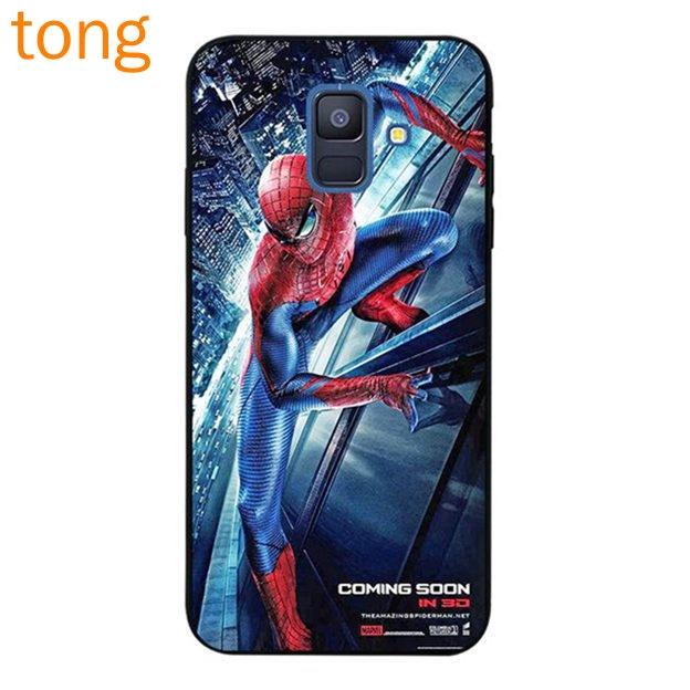 Samsung J2 Note 3 4 5 8 9 A5 A6 A8 A9 Star Pro Plus 2018 SOON Spiderman Soft TPU Case