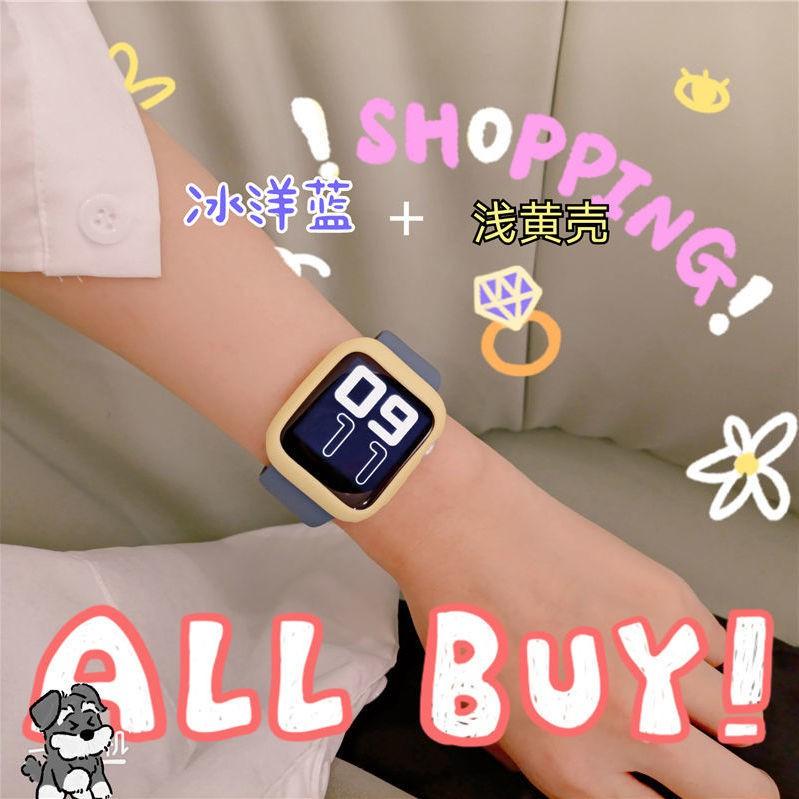 เคสนาฬิกาข้อมือซิลิโคนสําหรับ Applewatch Applewatch พร้อม Iwatch6/5/4/3