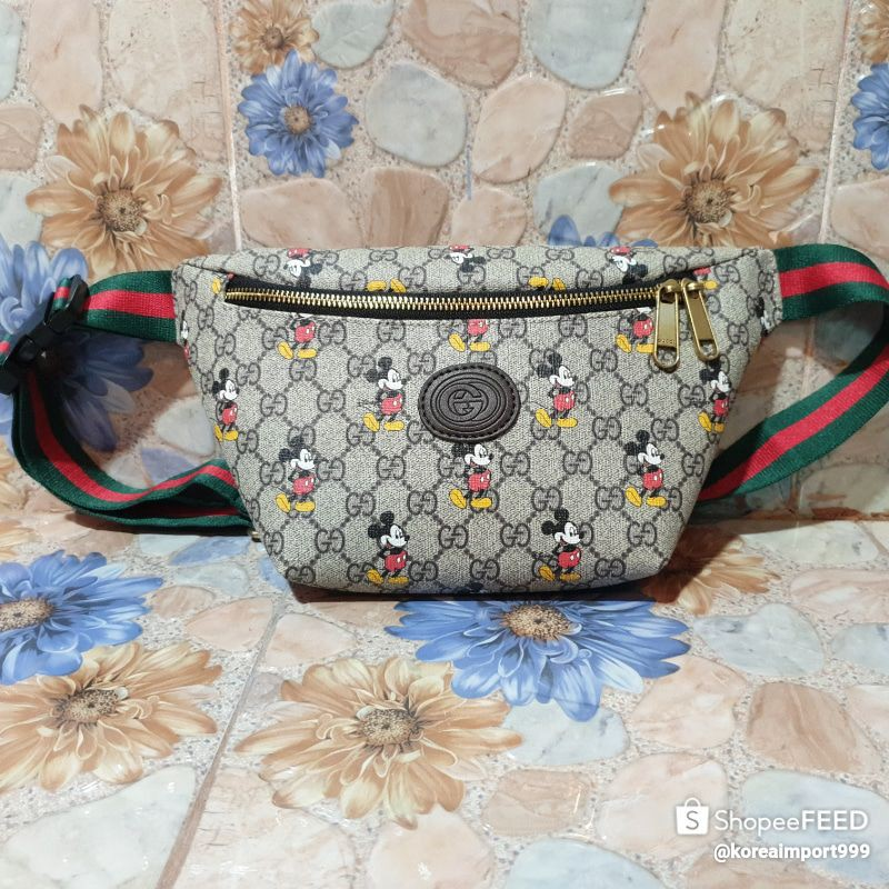 Gucci Micky Mouse Collection Belt Bag