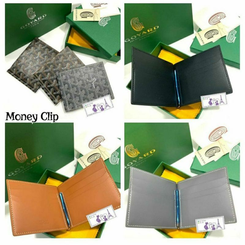 New Goyard Money Clip Wallet  ปี 2021 ของแท้