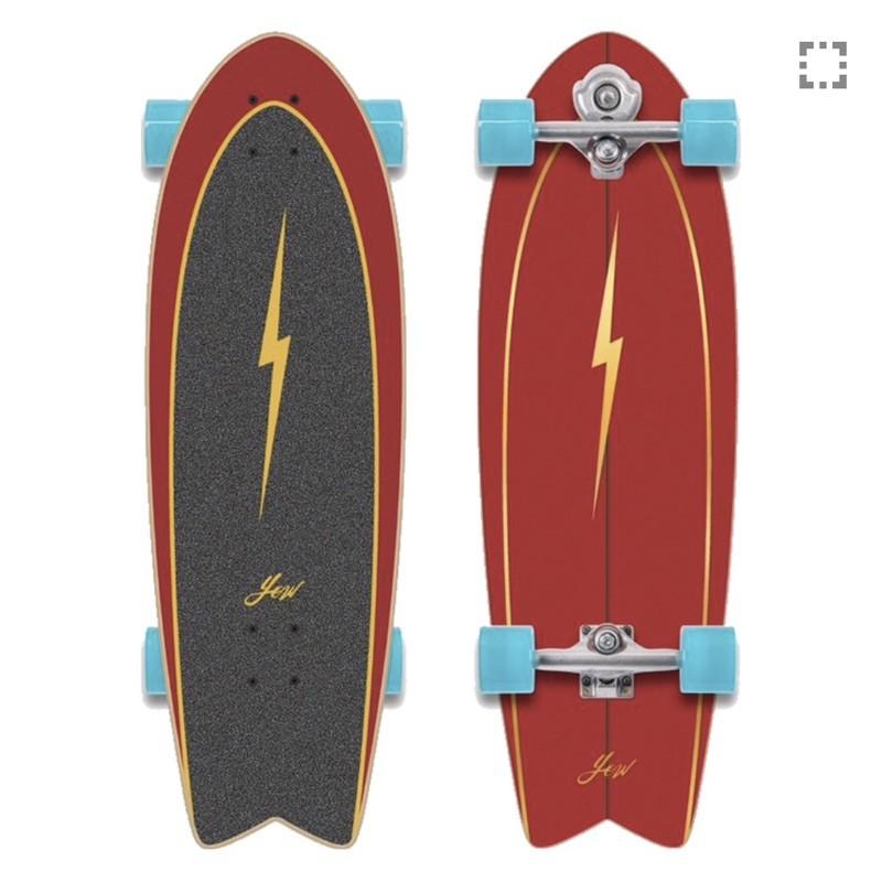 Surfskate board YOW PIPE 32″ MERAKI S5 มีของพร้อมส่ง